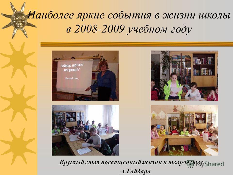 День Святого Валентина Наиболее яркие события в жизни школы в 2008-2009 учебном году