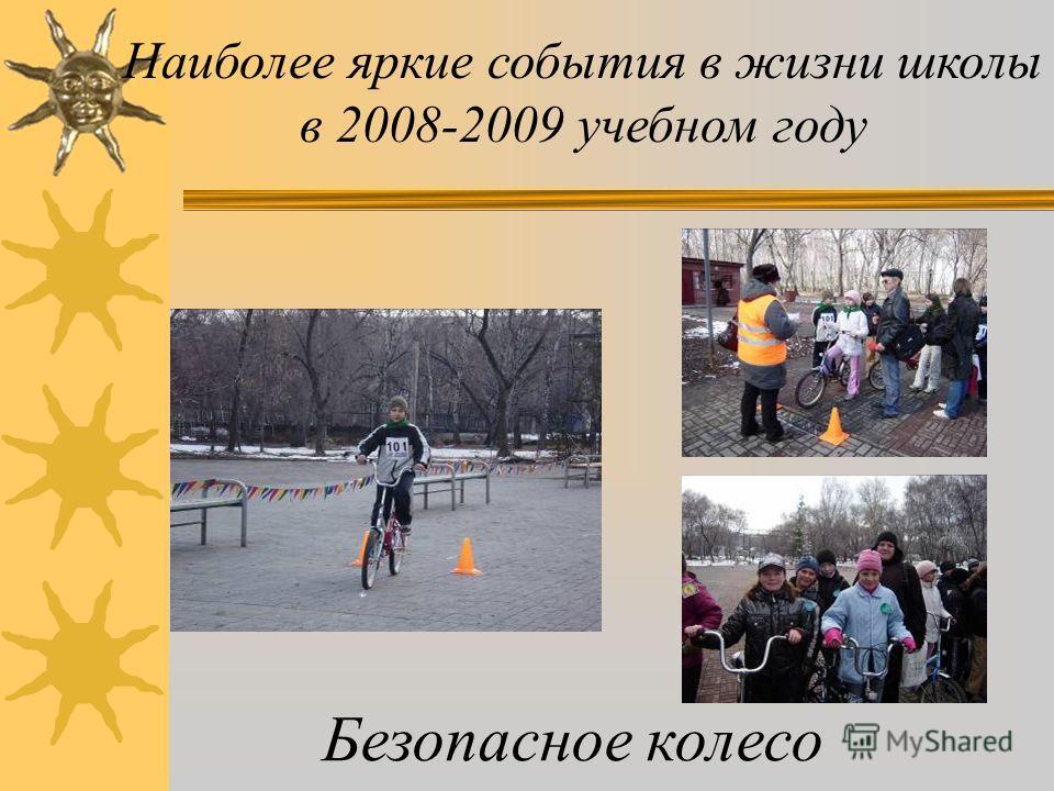 Наиболее яркие события в жизни школы в 2008-2009 учебном году Президентские состязания