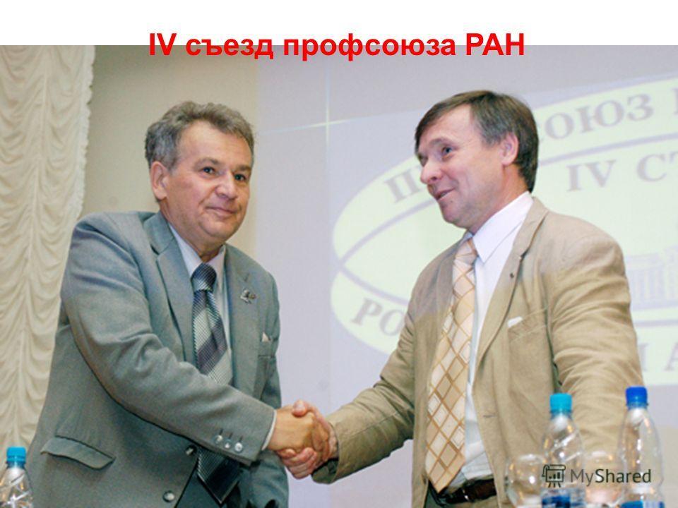 IV съезд профсоюза РАН