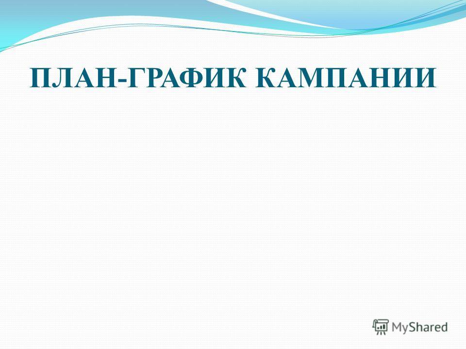 ПЛАН-ГРАФИК КАМПАНИИ
