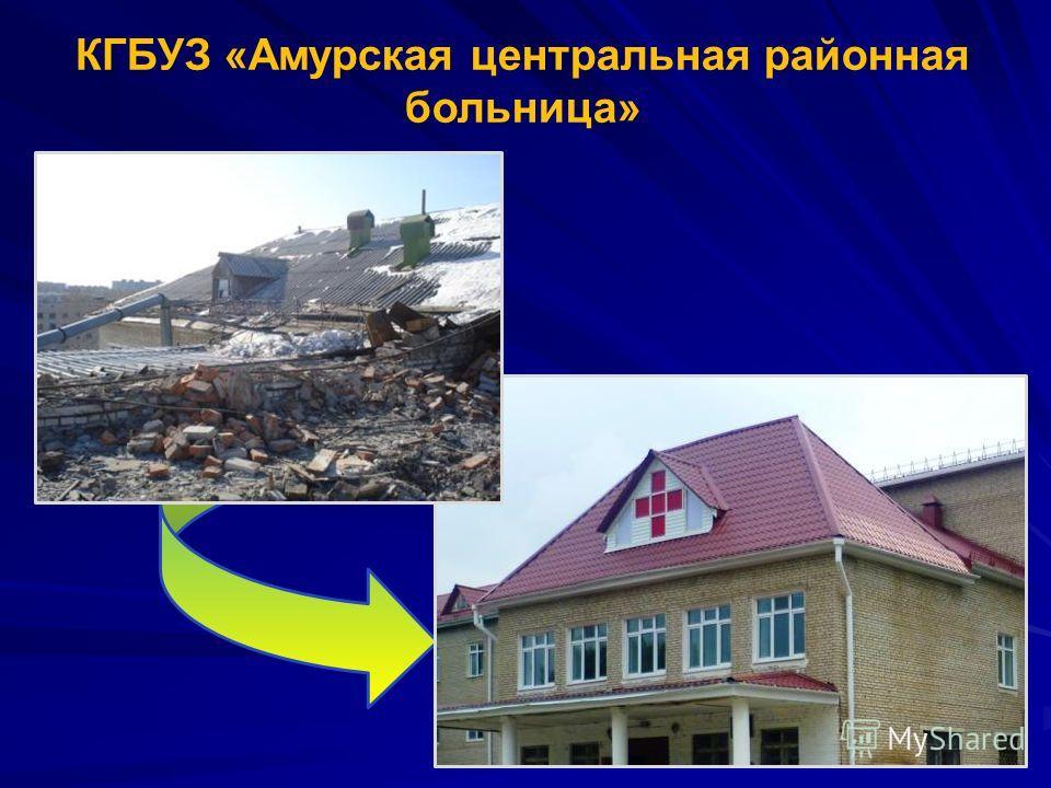КГБУЗ «Амурская центральная районная больница»