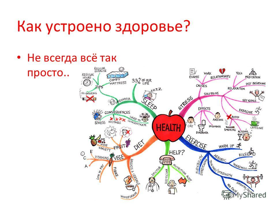 Как устроено здоровье? Не всегда всё так просто..