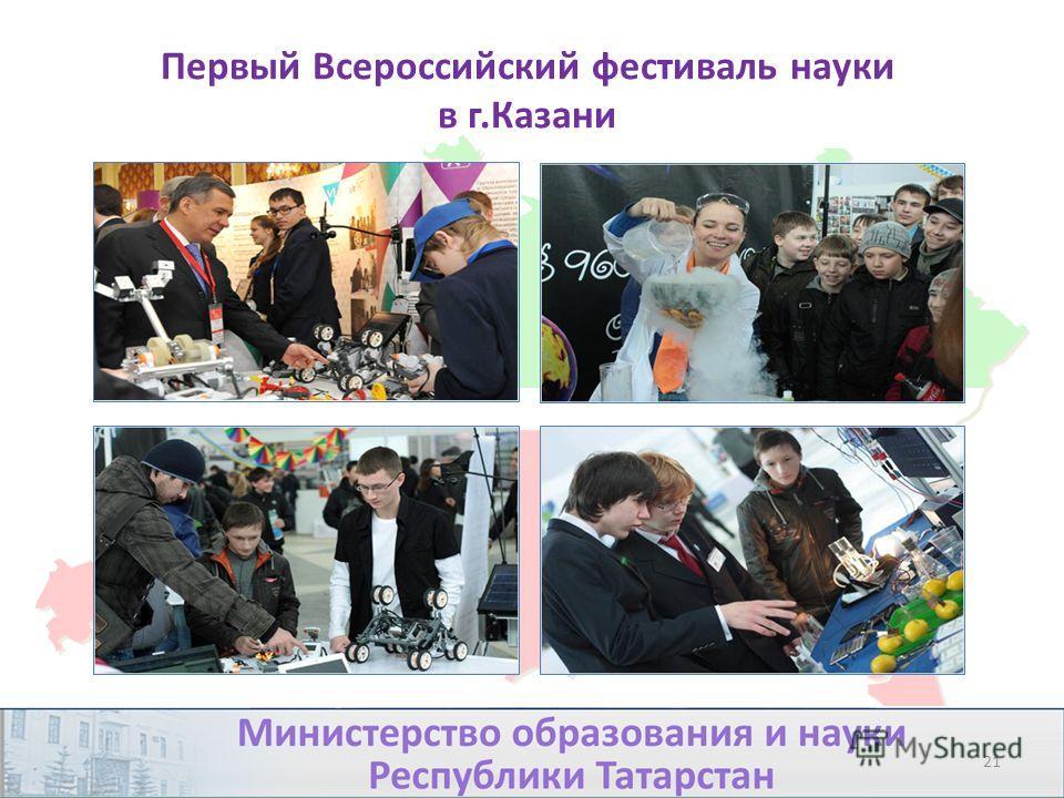 Первый Всероссийский фестиваль науки в г.Казани 21