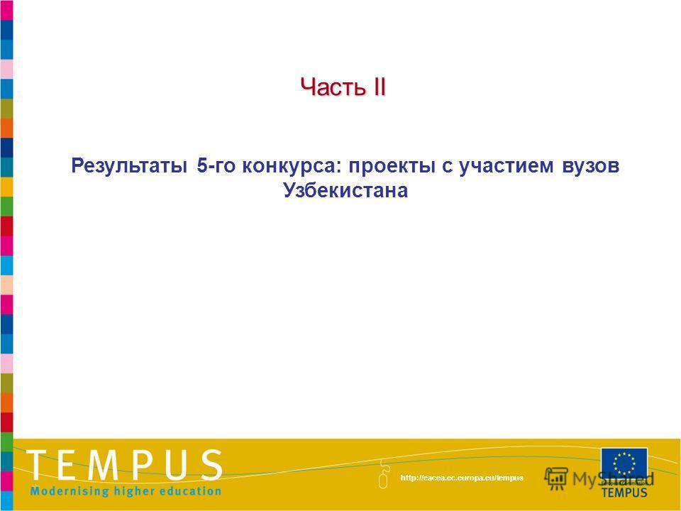 http://eacea.ec.europa.eu/tempus/index_en.php Национальные приоритеты – Структурные мероприятия ПРИОРИТЕТЫ РЕФОРМЫ В ОБЛАСТИ УПРАВЛЕНИЯВЫСШЕЕ ОБРАЗОВАНИЕ И ОБЩЕСТВО Управление университетом и студенческие службы Внедрение системы обеспечения качества