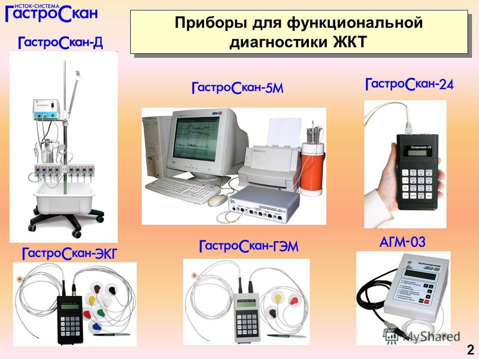 2 Приборы для функциональной диагностики ЖКТ