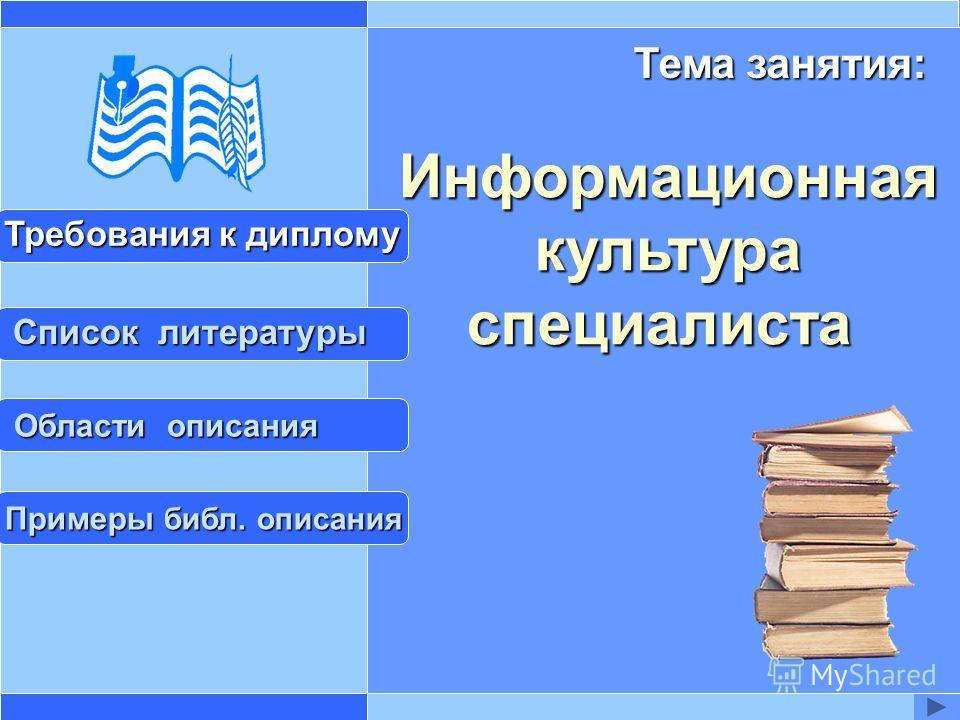 Презентация Информационная Культура По Информатике