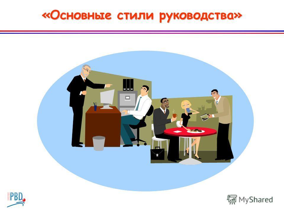 «Основные стили руководства»