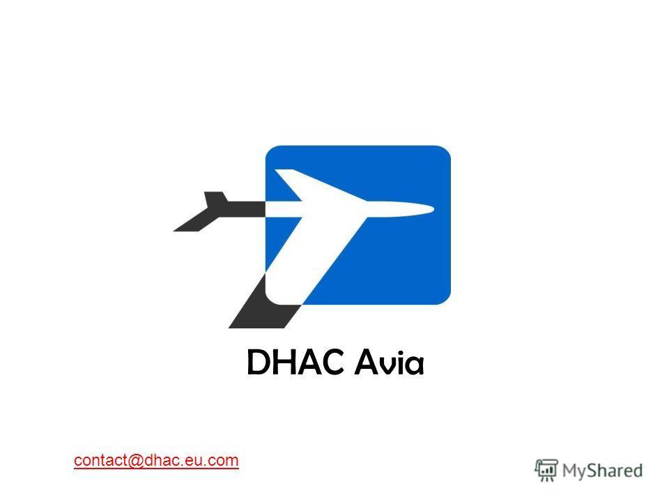 DHAC Avia contact@dhac.eu.com