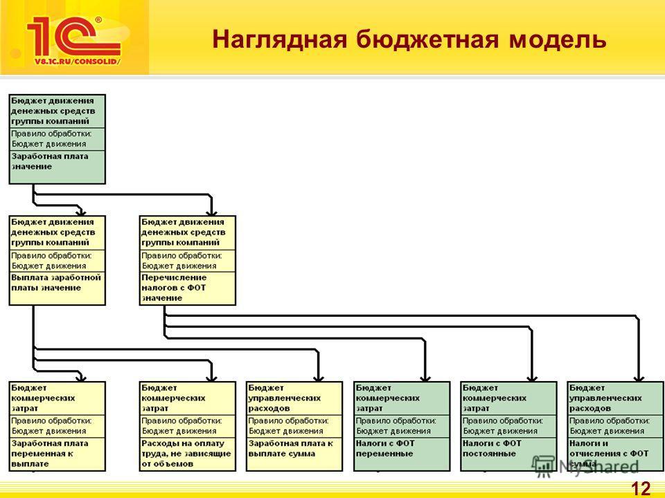 12 Наглядная бюджетная модель
