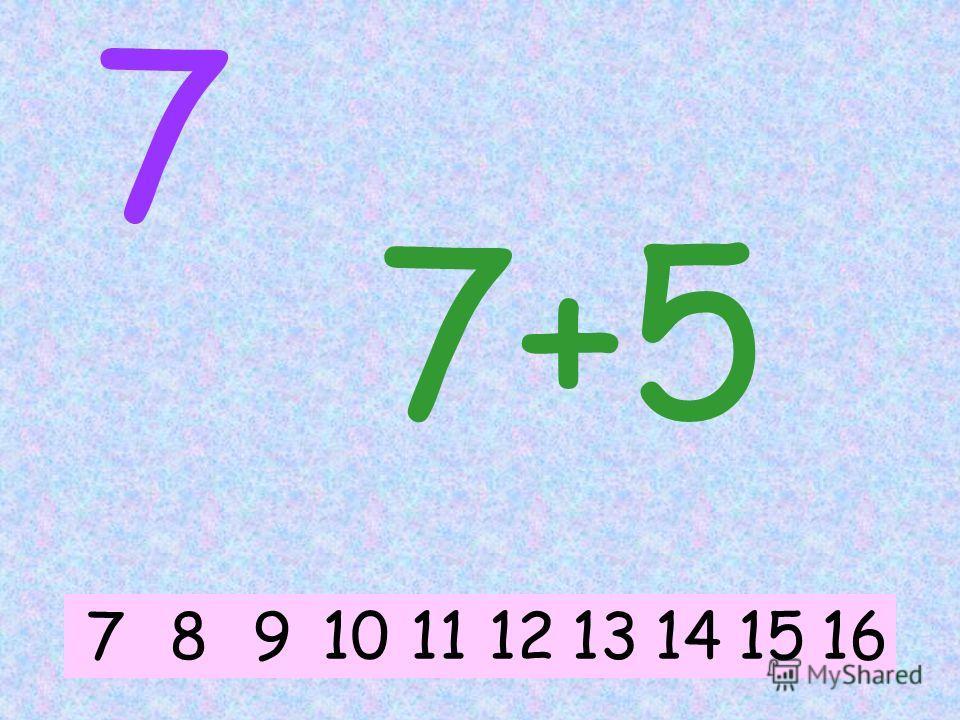 7 7+1 78914101112131516