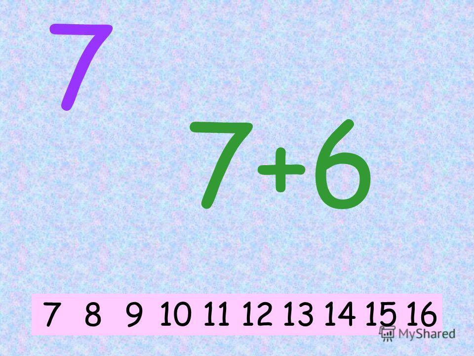 7 7+7 78914101112131516