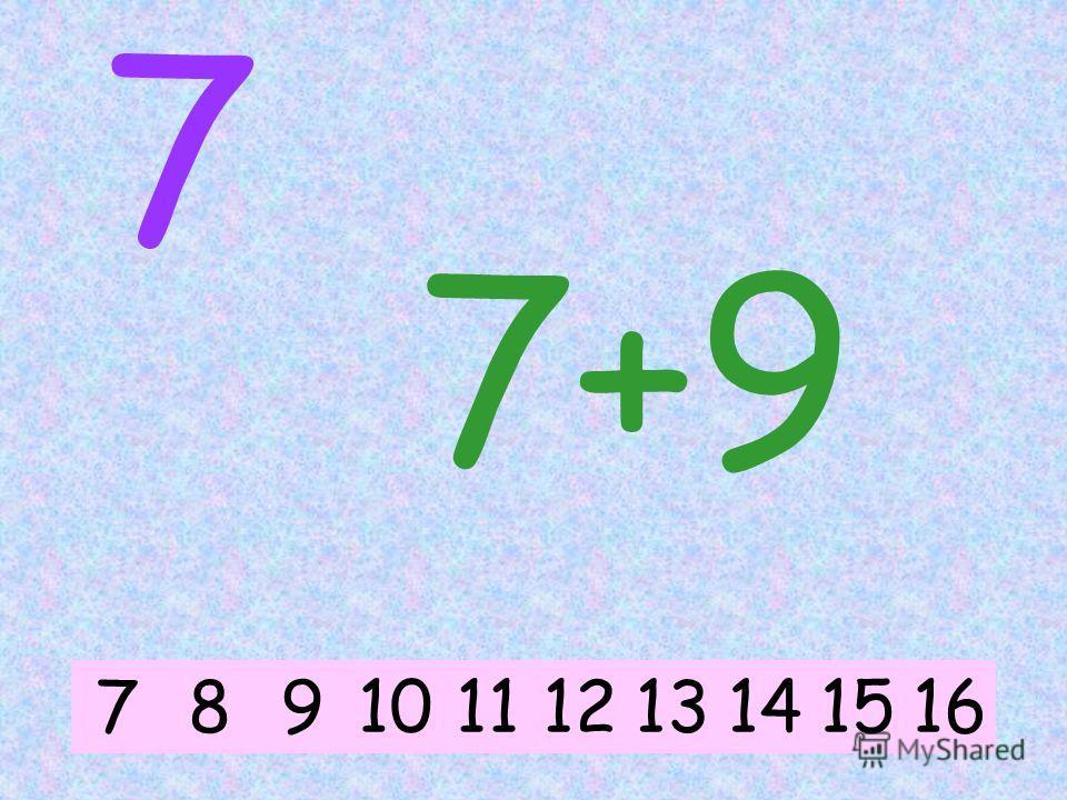 7 7+6 78914101112131516