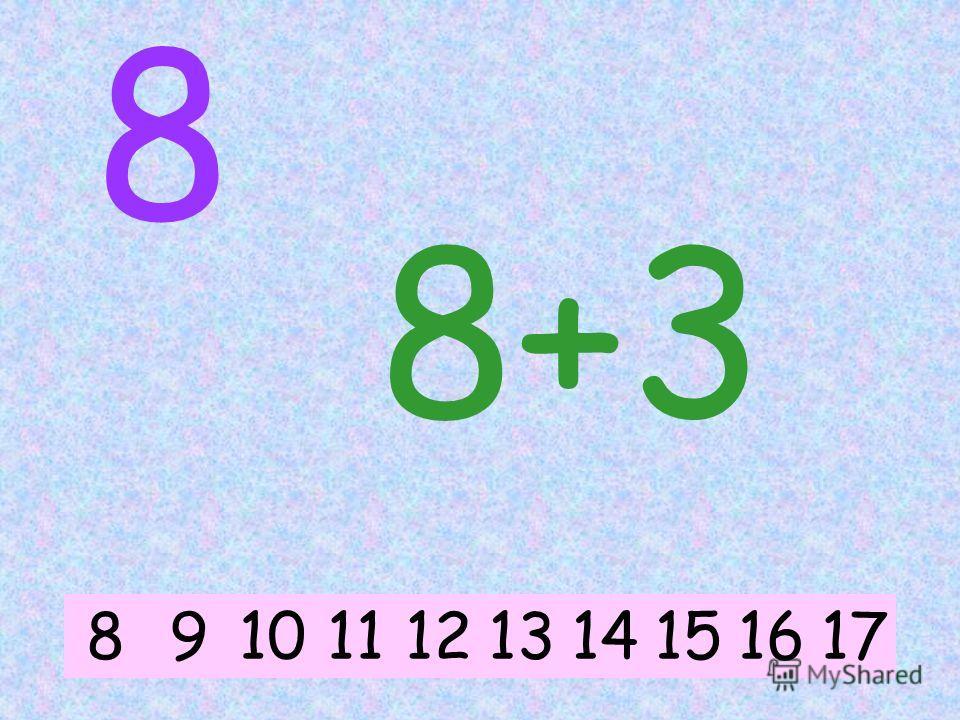 8 8+5 891015111213141617