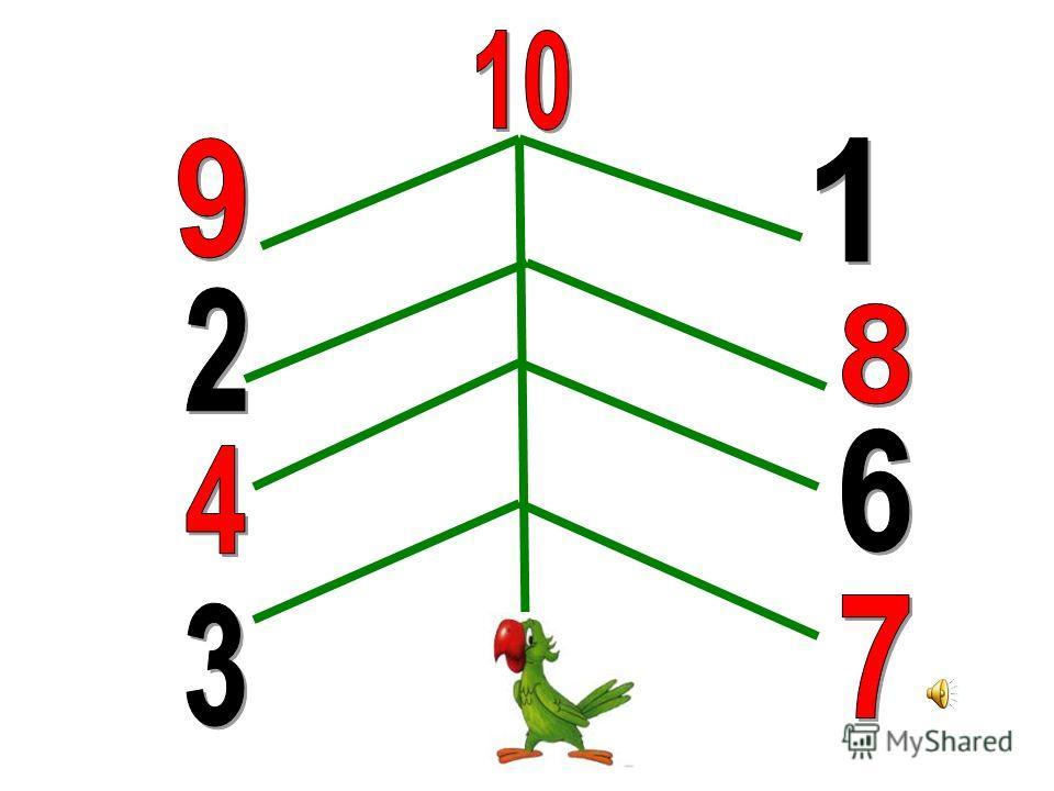 Остров говорящих попугаев 9, 8, 7, …, 1 10, 11, 12, …, 19