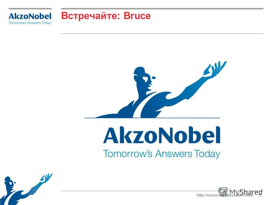 http://tomorrow.akzonobel.intra5 Встречайте: Bruce