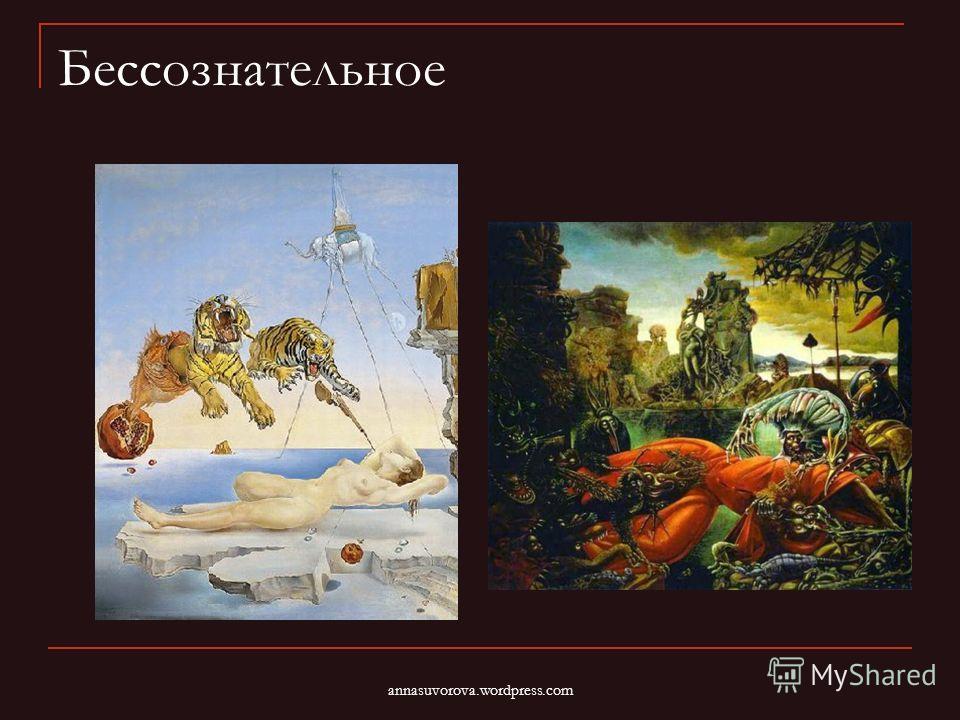 Бессознательное annasuvorova.wordpress.com