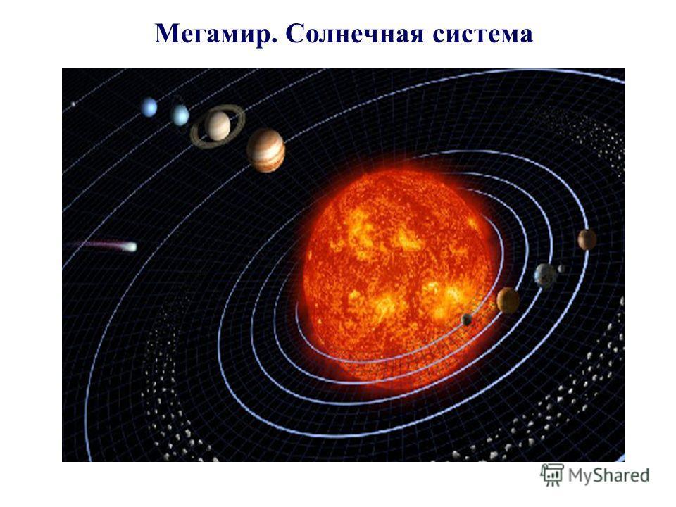 Мегамир. Солнечная система
