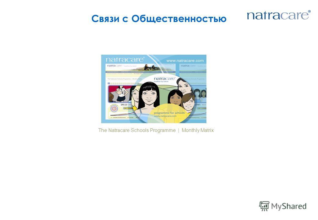 Связи с Общественностью The Natracare Schools Programme | Monthly Matrix