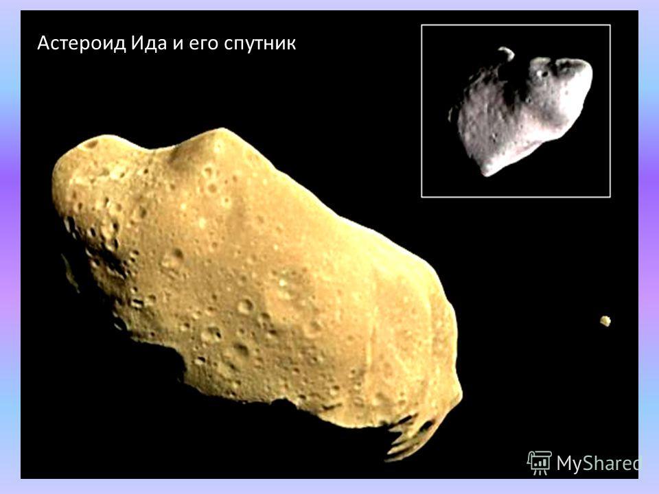 Астероид Ида и его спутник