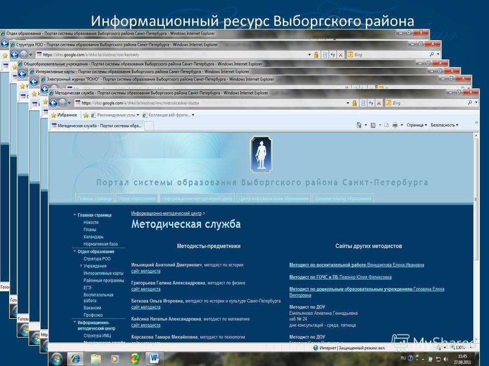 Информационный ресурс Выборгского района