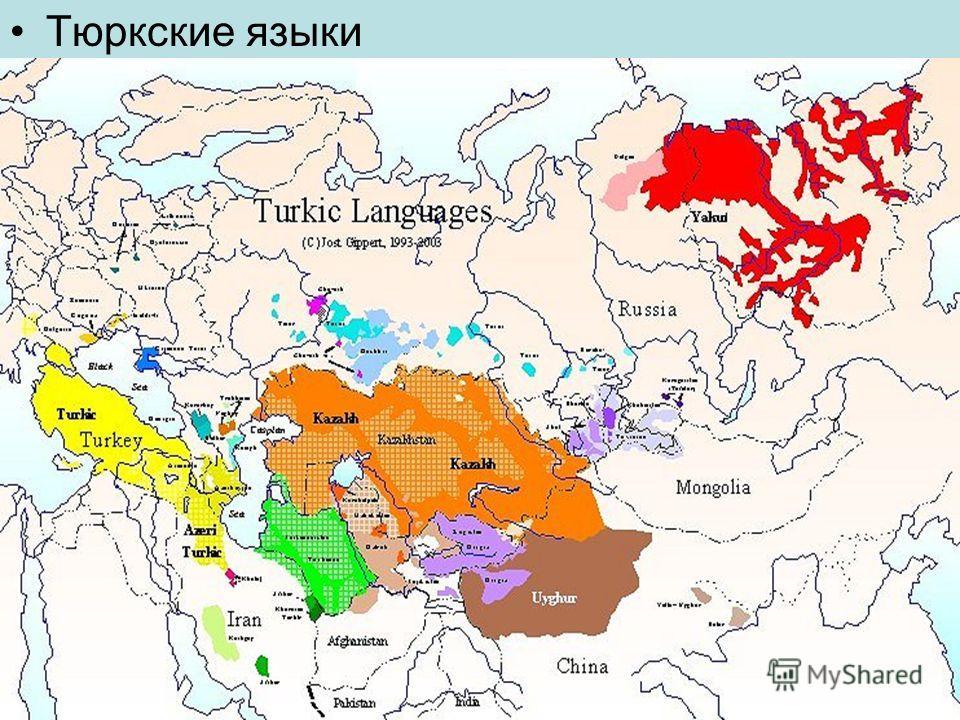 Тюркские языки