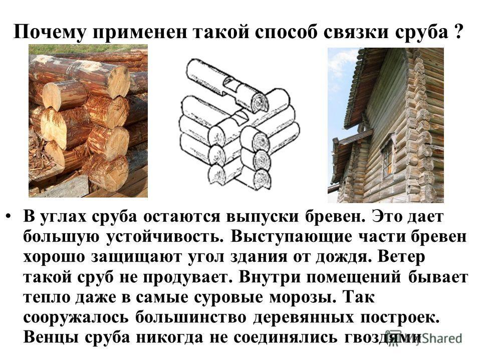 Срубы храма сложены в основном способом в обло Облый значит круглый