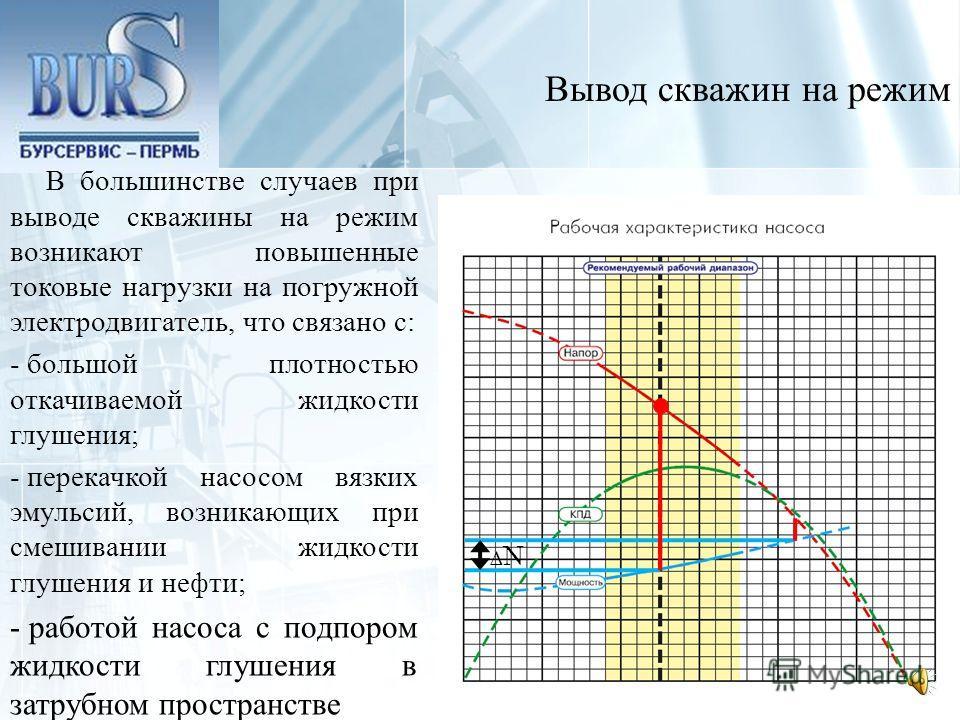 Таким образом, суточный режим работы скважины имеет следующие преимущества по сравнению с периодической эксплуатацией: - увеличение добычи нефти за счет повышения среднесуточной депрессии на пласт; - увеличение наработки на отказ глубинно-насосного о