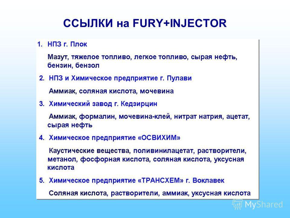 ССЫЛКИ на FURY+INJECTOR