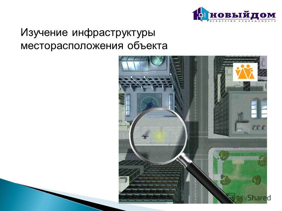 Изучение инфраструктуры месторасположения объекта