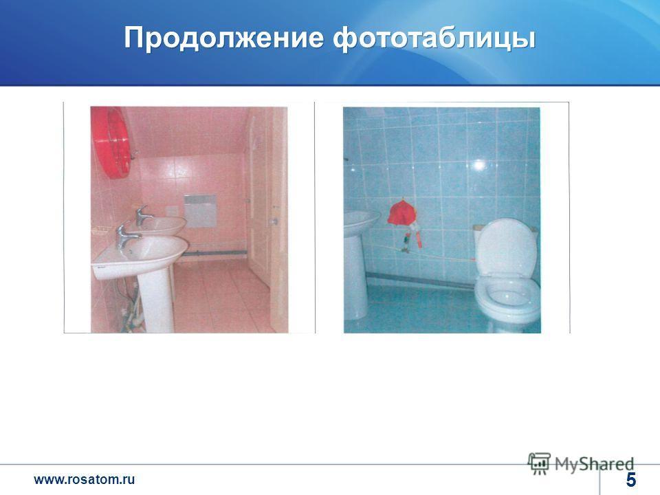 www.rosatom.ru Продолжение фототаблицы 5