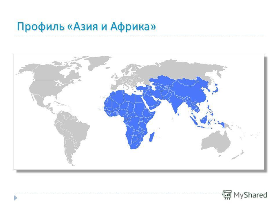 Профиль «Азия и Африка»