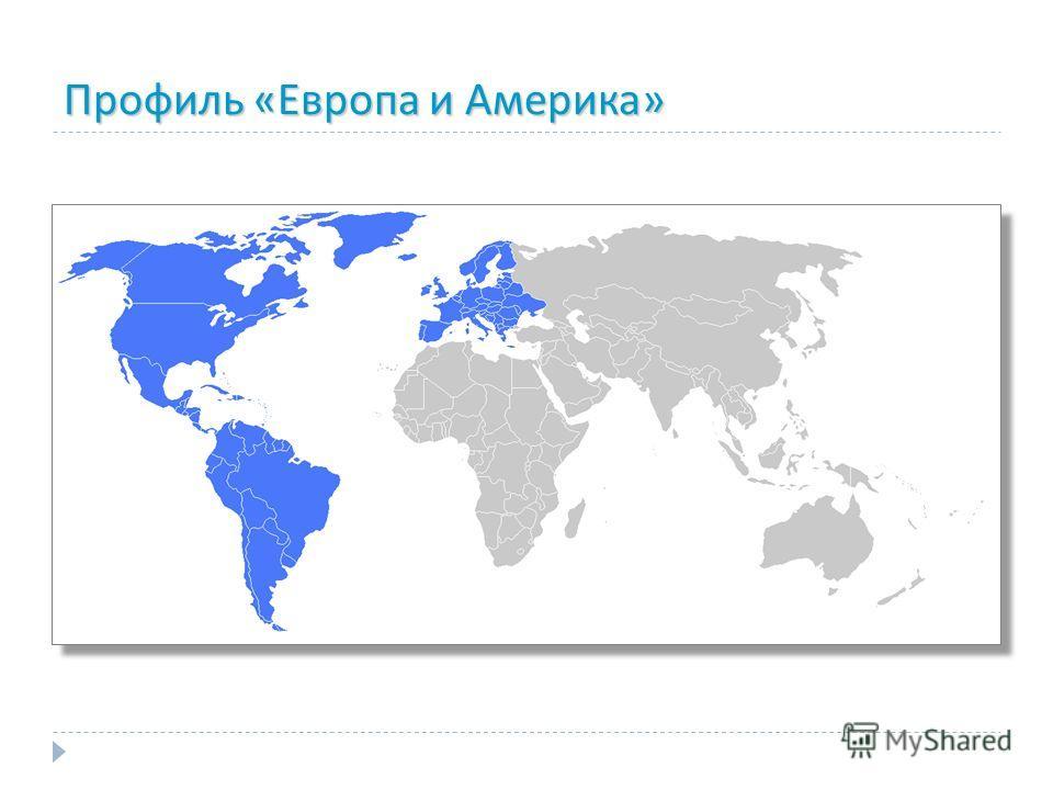 Профиль «Европа и Америка»