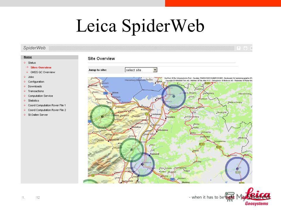 1.12 Leica SpiderWeb