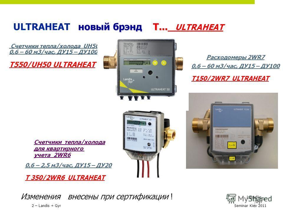 новый брэнд Т... ULTRAHEAT новый брэнд Т... ULTRAHEAT Счетчики тепла/холода UH50 0,6 – 60 м3/час, ДУ15 – ДУ100 Т550/UH50 ULTRAHEAT Счетчики тепла/холода для квартирного учета 2WR6 Расходомеры 2WR7 0,6 – 60 м3/час, ДУ15 – ДУ100 Т150/2WR7 ULTRAHEAT 0,6