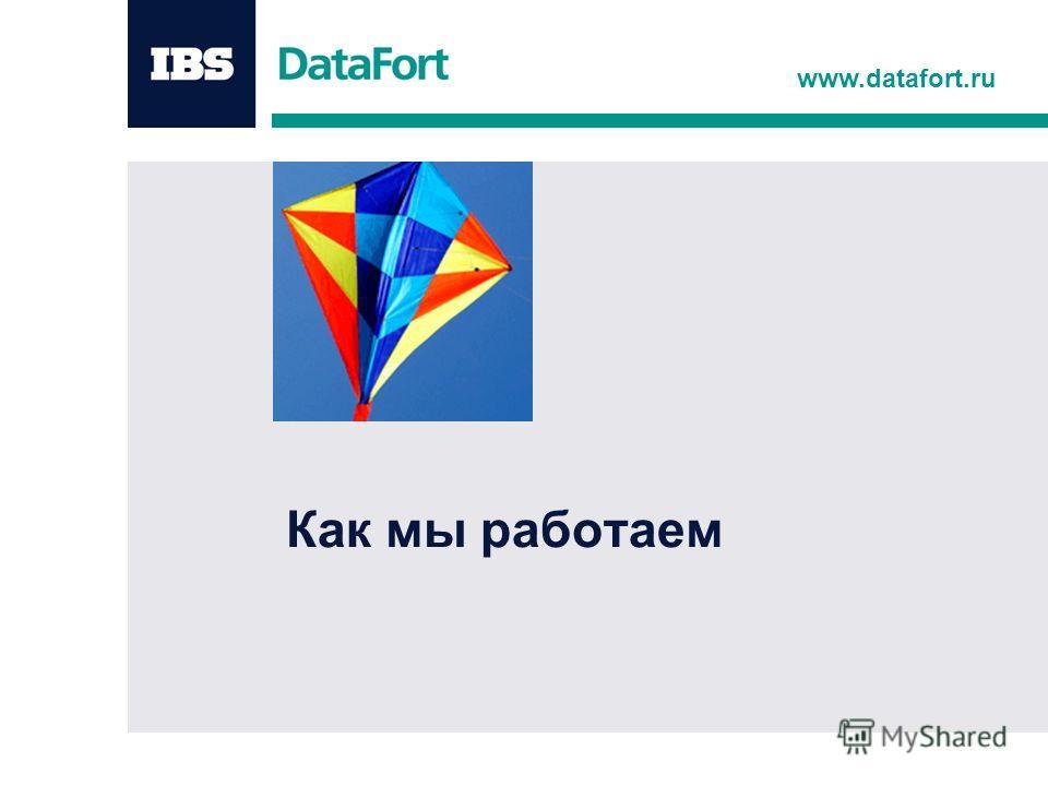www.datafort.ru Как мы работаем