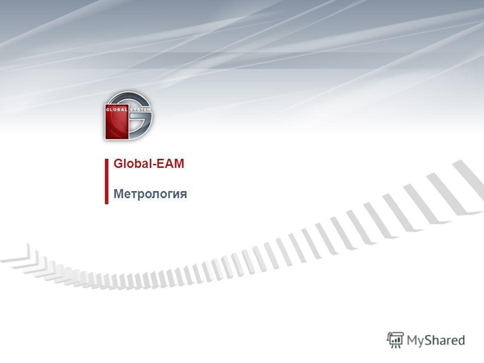 Global-EAM Метрология
