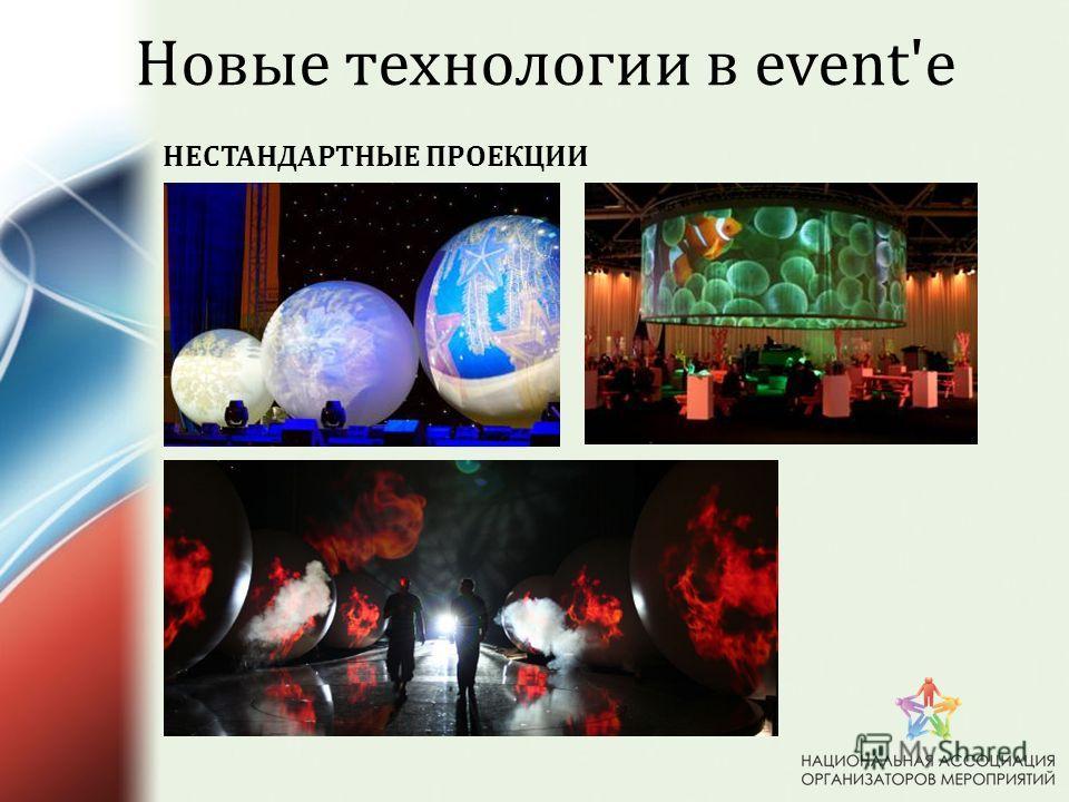 НЕСТАНДАРТНЫЕ ПРОЕКЦИИ Новые технологии в event'e