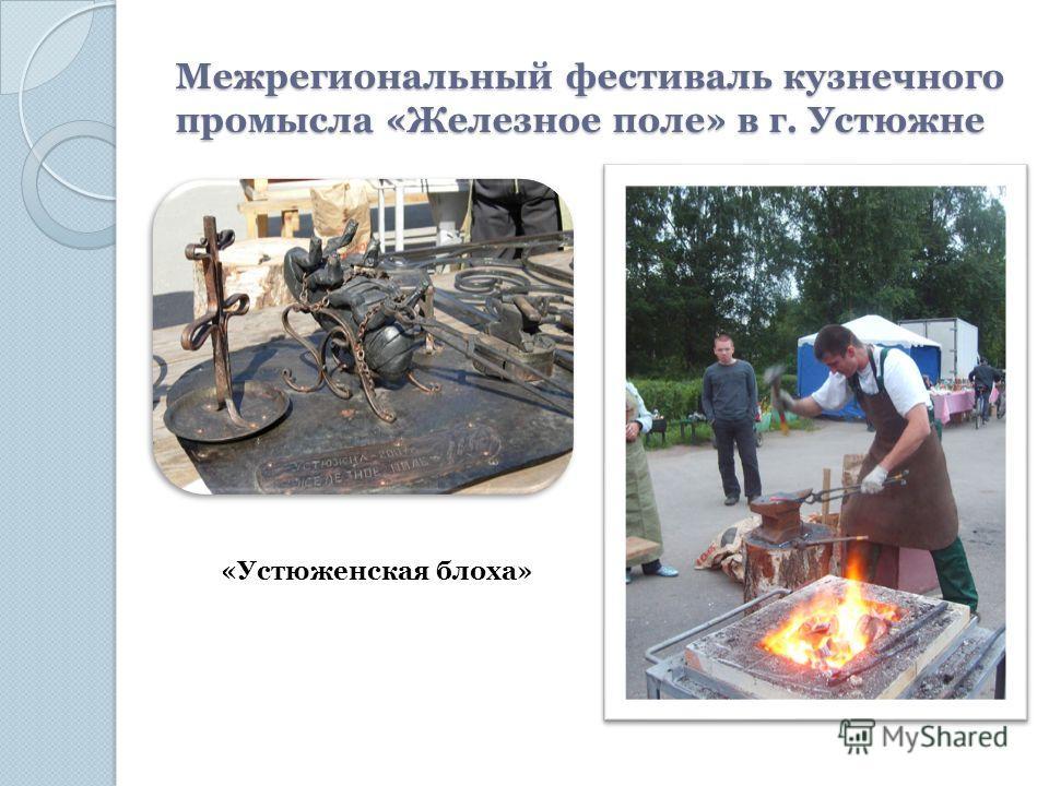 Межрегиональный фестиваль кузнечного промысла «Железное поле» в г. Устюжне «Устюженская блоха»