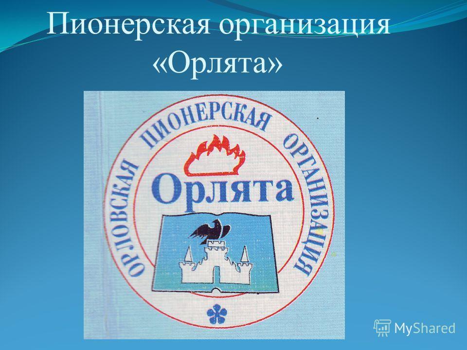 Пионерская организация «Орлята»