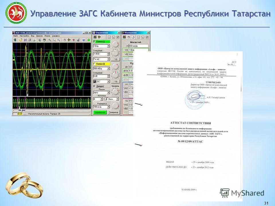 Управление ЗАГС Кабинета Министров Республики Татарстан 31