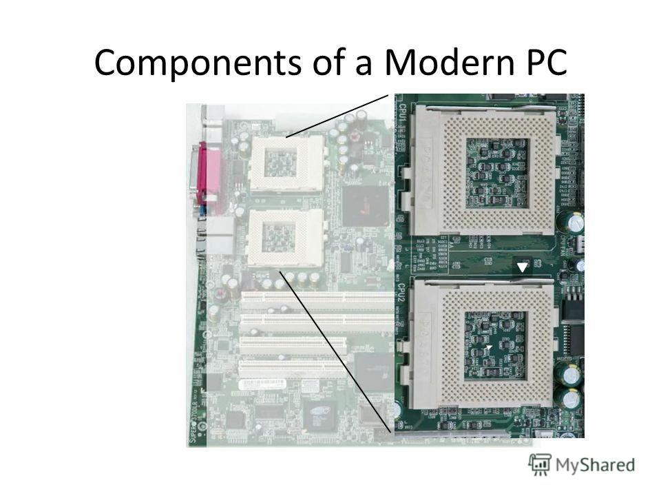 Components of a Modern PC
