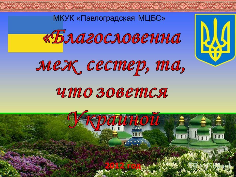 МКУК «Павлоградская МЦБС» 2012 год
