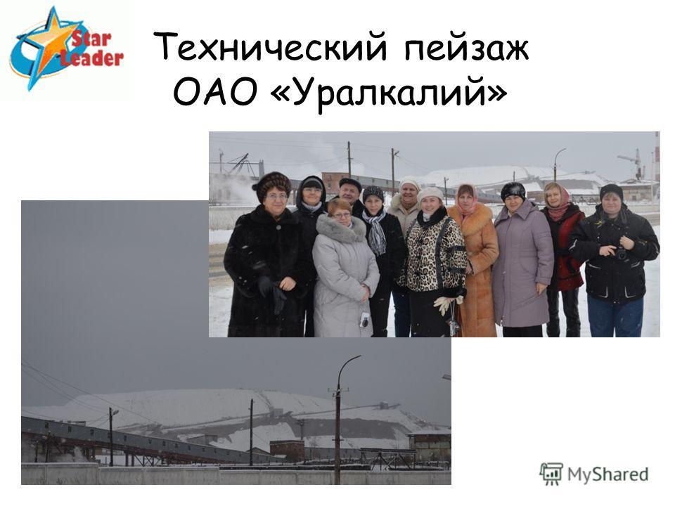 Технический пейзаж ОАО «Уралкалий»