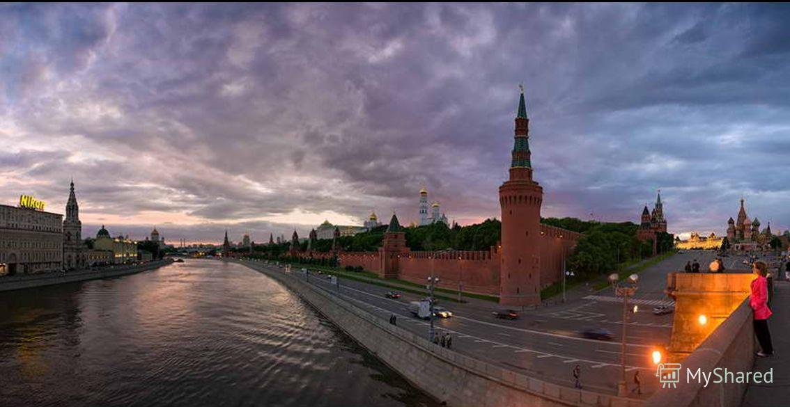 КремльиБольшоймоскворецкий мост