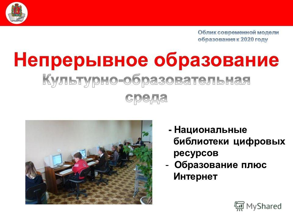Министерство образования и науки Красноярского края - Национальные библиотеки цифровых ресурсов - Образование плюс Интернет