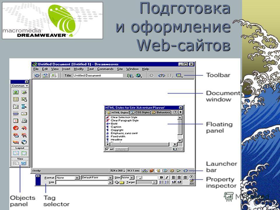 Подготовка и оформление Web-сайтов
