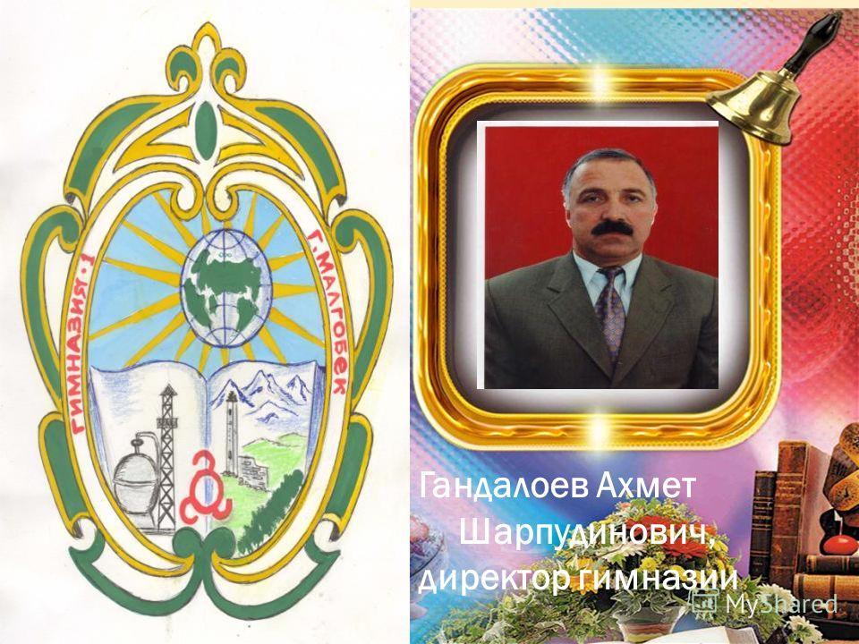 Гандалоев Ахмет Шарпудинович, директор гимназии