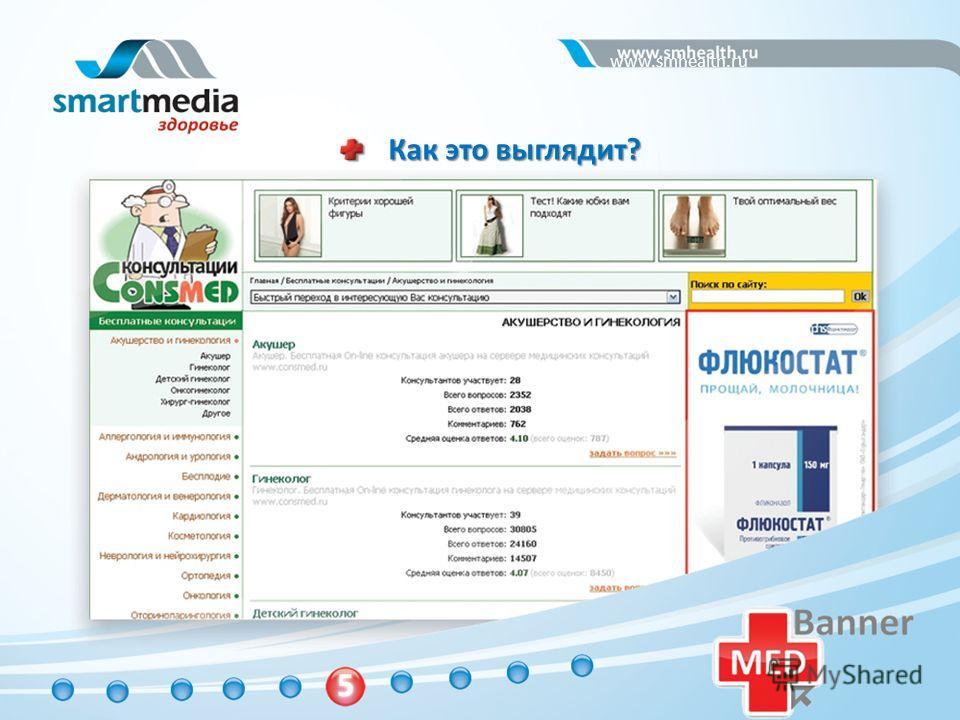 Как это выглядит? www.smhealth.ru