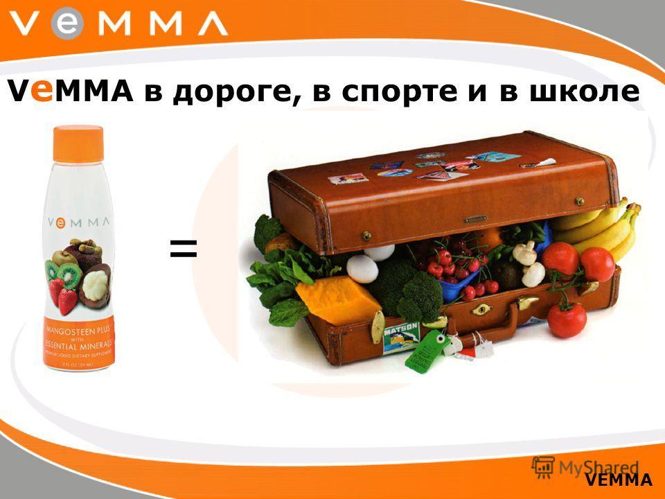 = V e MMA в дороге, в спорте и в школе VEMMA