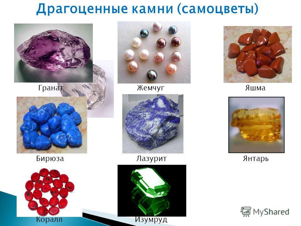 Коралл Гранат Янтарь Изумруд ЯшмаЖемчуг БирюзаЛазурит Драгоценные камни (самоцветы)